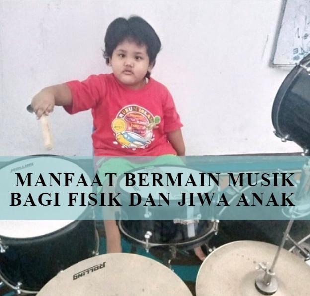 manfaat bermain musik untuk anak